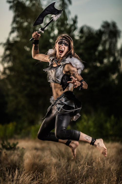 Wild Warrior Cosplay