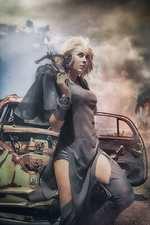 Aunty Entity from Mad Max Cosplay