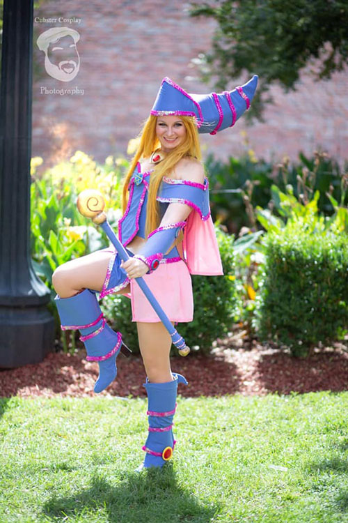 Dark Magician Girl from Yu-Gi-Oh! Cosplay