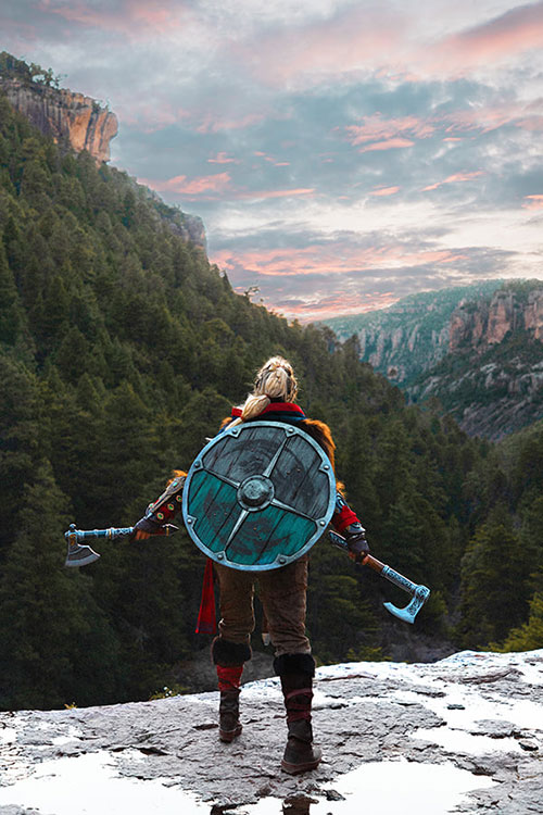 Eivor from Assassins Creed: Valhalla Cosplay