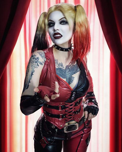 Harley Quinn from Batman: Arkham City Cosplay