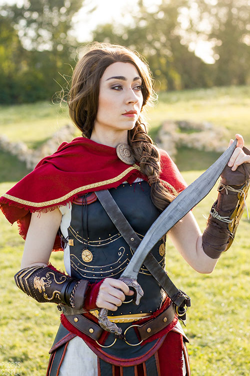 Kassandra from Assassins Creed: Odyssey Cosplay