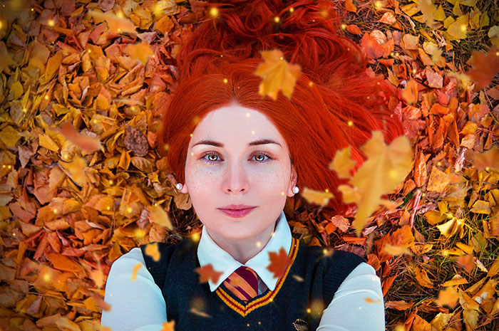 Lily Evans from Harry Potter Cosplay