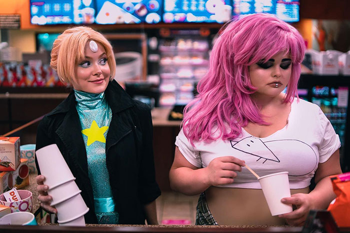 Mystery Girl & Pearl from Steven Universe Cosplay