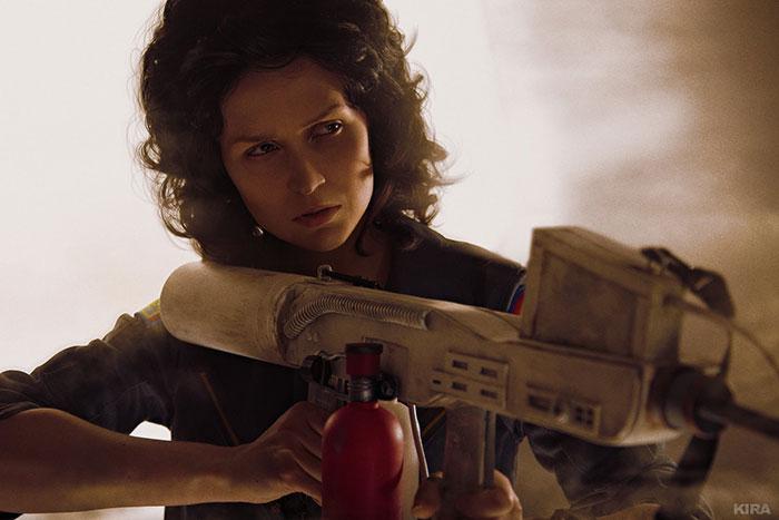 Ellen Ripley from Alien Cosplay