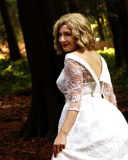Sabrina Spellman Dark Baptism Dress Cosplay