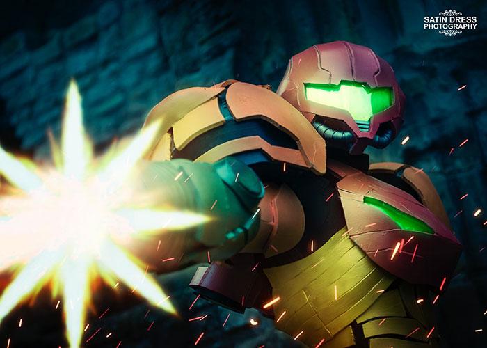 Samus Aran Varia Suit & Zero Suit Cosplay