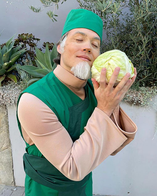 Sexy Cabbage & Cabbage Man from Avatar: The Last Airbender Cosplay