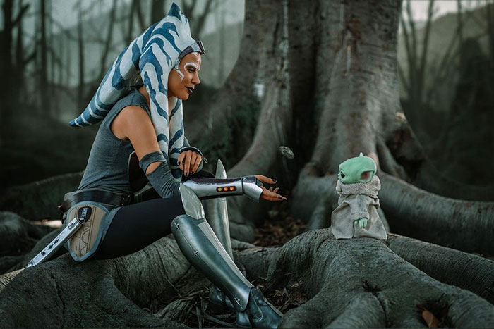 Ahsoka Tano from Star Wars Cosplay