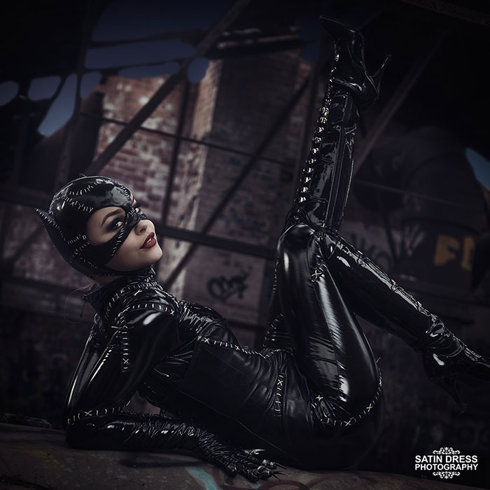 Catwoman from Batman Returns Cosplay