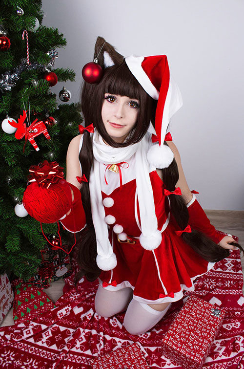 Christmas Chocola from Nekopara Cosplay