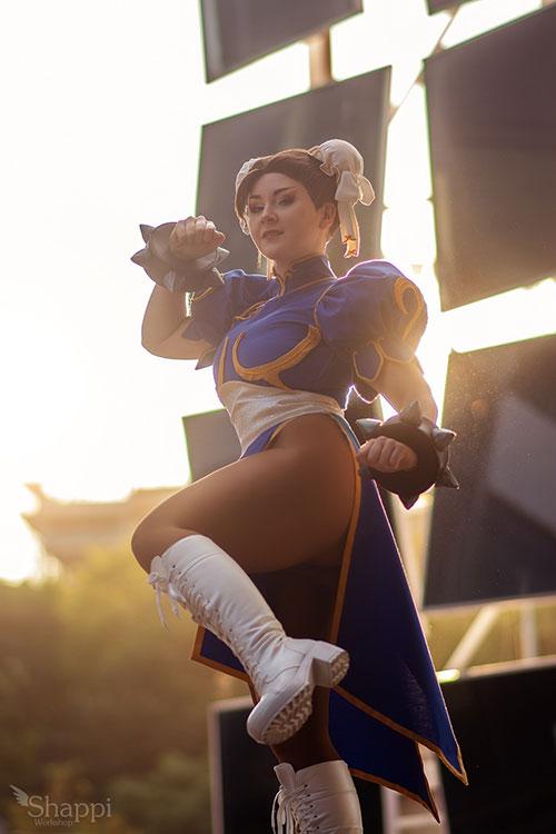 Chun-Li from Street Fighter Cosplay