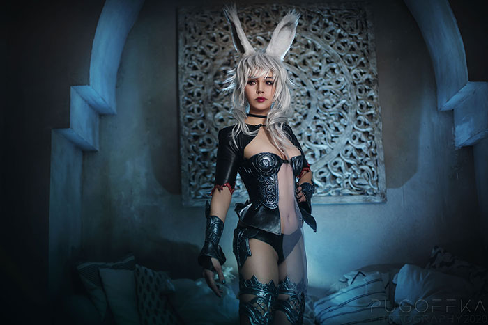 Fran from Final Fantasy Cosplay