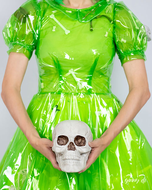 Gelatinous Cube from Dungeons & Dragons Inspired Dress