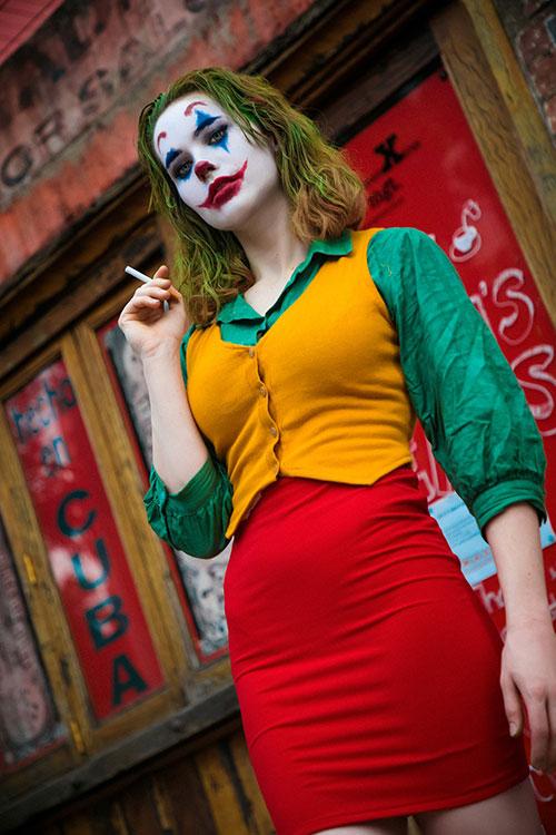 Genderbent Joker Cosplay