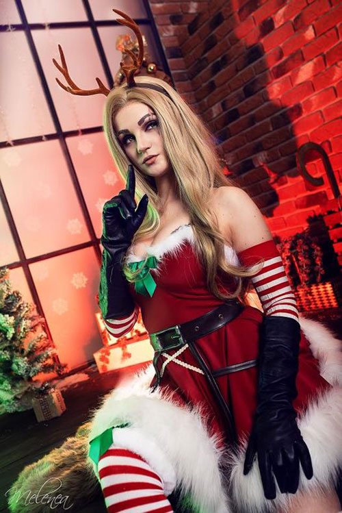 Slay Belle Katarina from League of Legends Cosplay