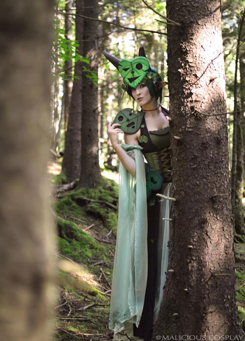 Korok from The Legend of Zelda Cosplay