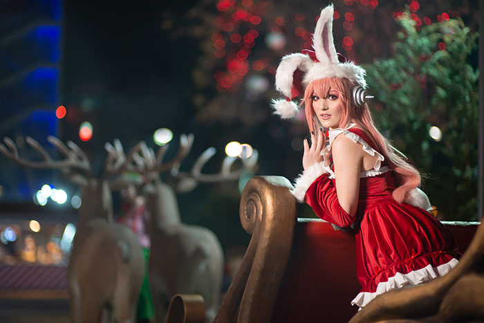 Christmas Super Sonico Cosplay