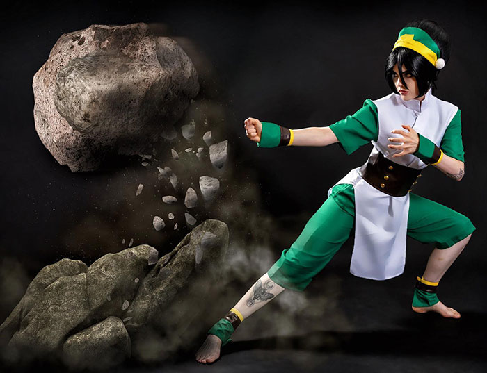 Toph from Avatar: The Last Airbender Cosplay