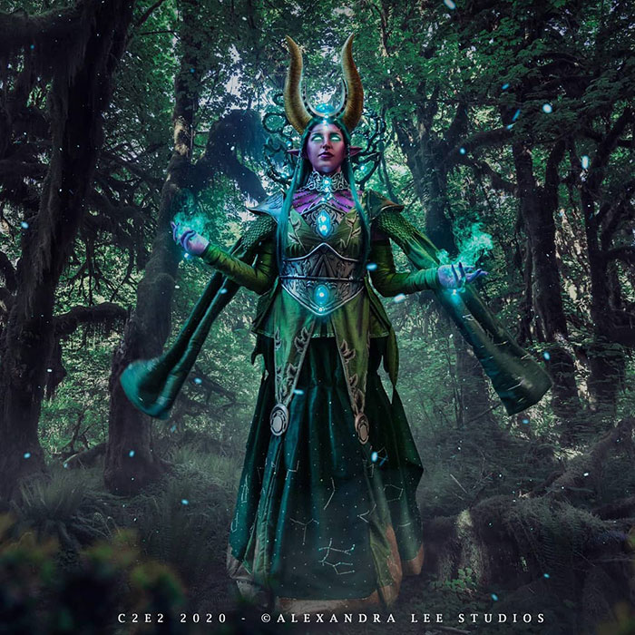 Ysera from World of Warcraft Cosplay