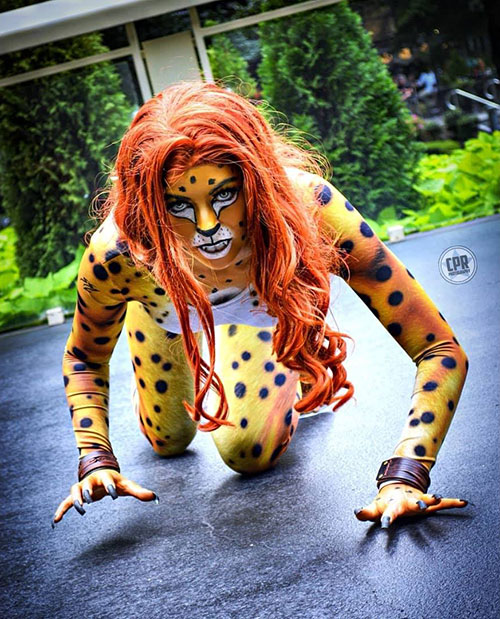 Cheetah from DC Comics Cosplay