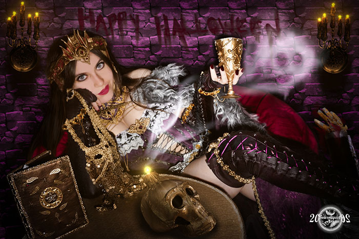 Liliana from Magic The Gathering Cosplay