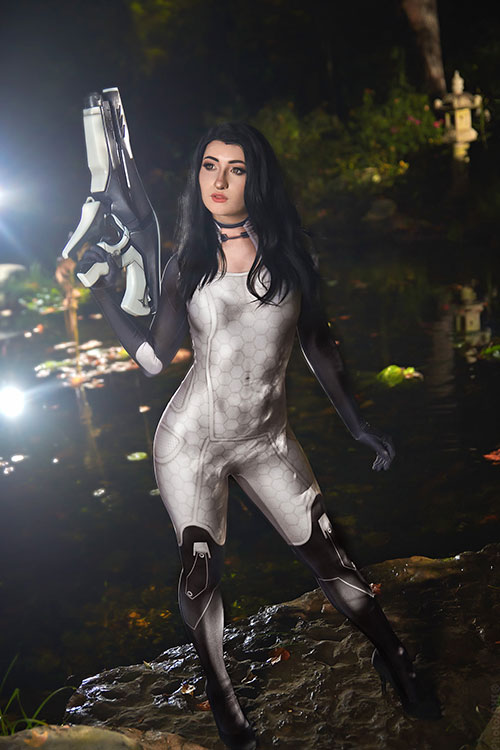 Miranda from Mass Effect Cosplay