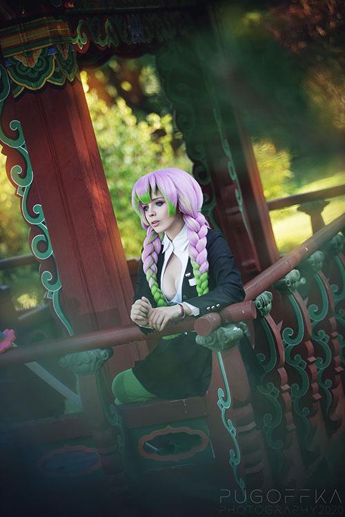 Mitsuri from Demon Slayer: Kimetsu no Yaiba Cosplay