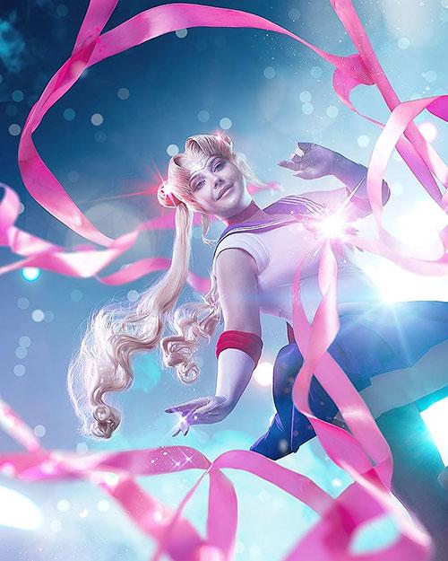 Princess Serenity and Sailor Moon Cosplay