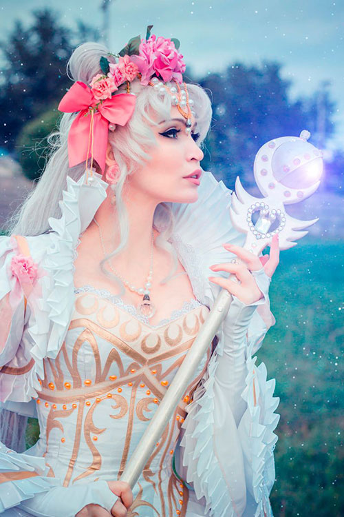 Rococo Princess Serenity from Sailor Moon Cosplay