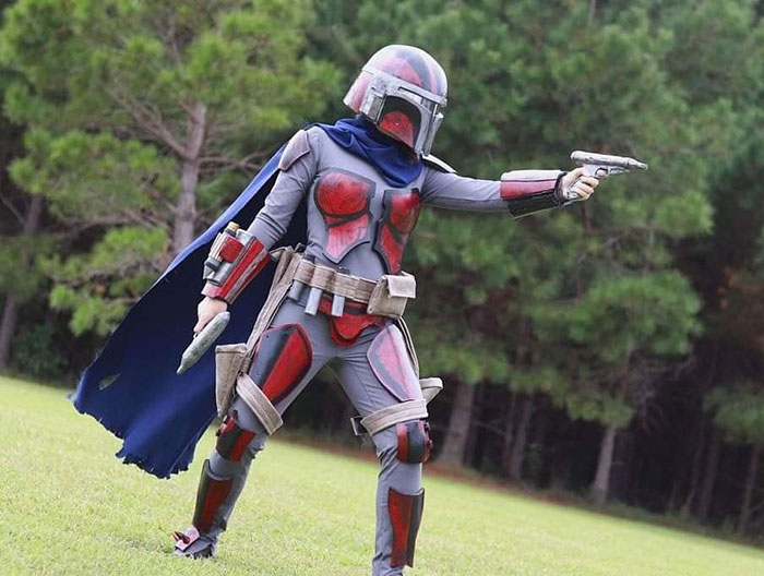 Vhonte Tervho from Star Wars Cosplay