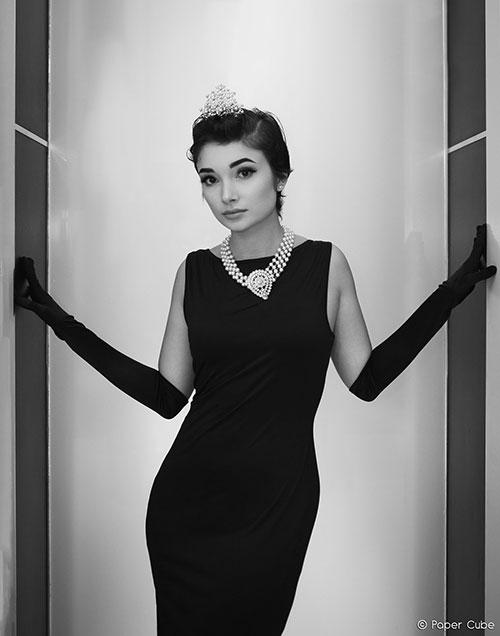 Audrey Hepburn Cosplay