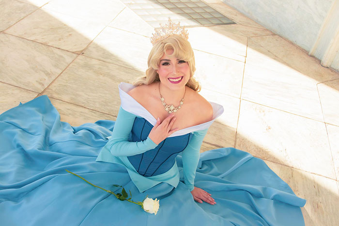 Aurora from Sleeping Beauty Cosplay