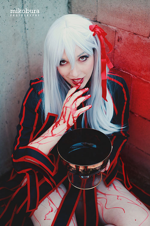 Dark Sakura from Fate/Stay Night Cosplay