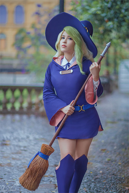 Diana Cavendish from Little Witch Academia Cosplay