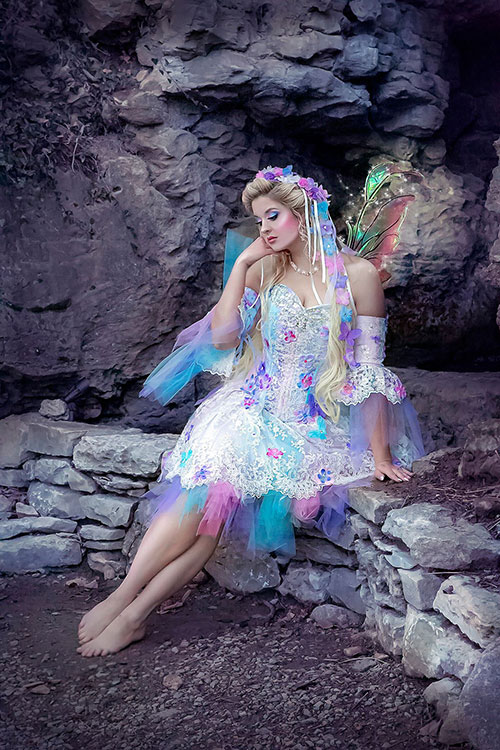 Fairy Princess Fantasy Photoshoot