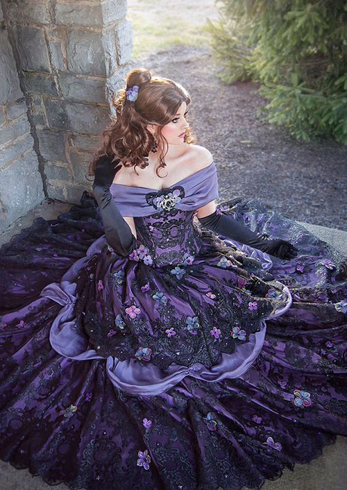 Gothic Belle from Beauty and the Beast Cosplay