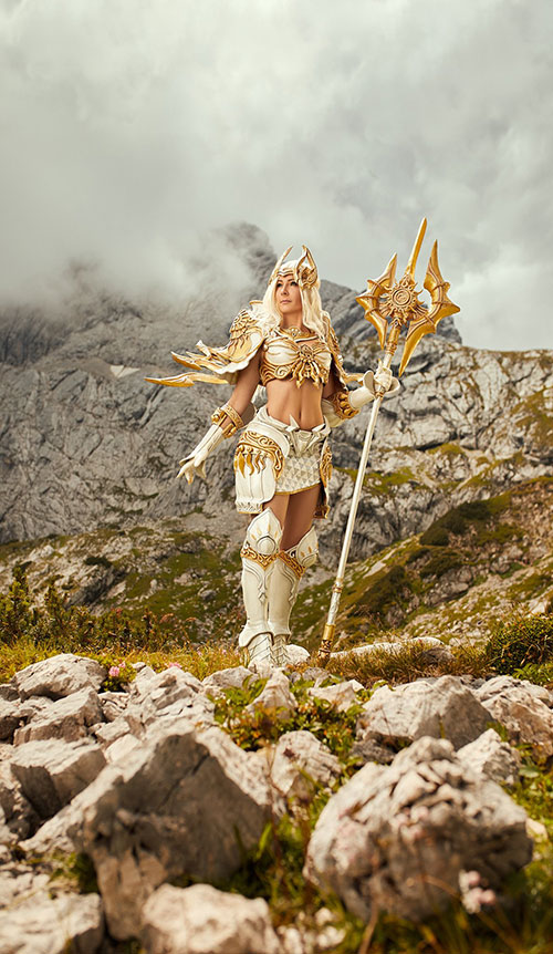 Kaelis from Aion Cosplay
