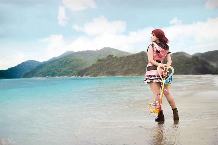Kairi from Kingdom Hearts III Cosplay