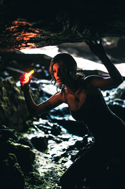 Lara Croft from Tomb Raider Cosplay