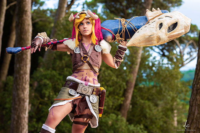 Link from The Legend of Zelda: Breath of the Wild Cosplay