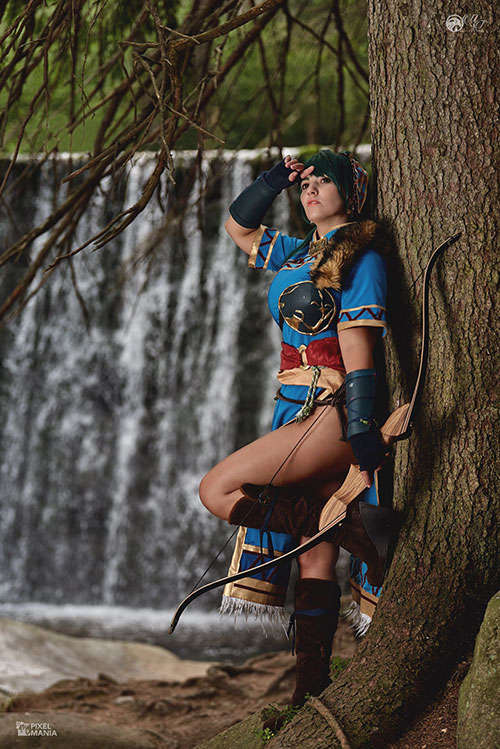 Lyn from Fire Emblem Cosplay