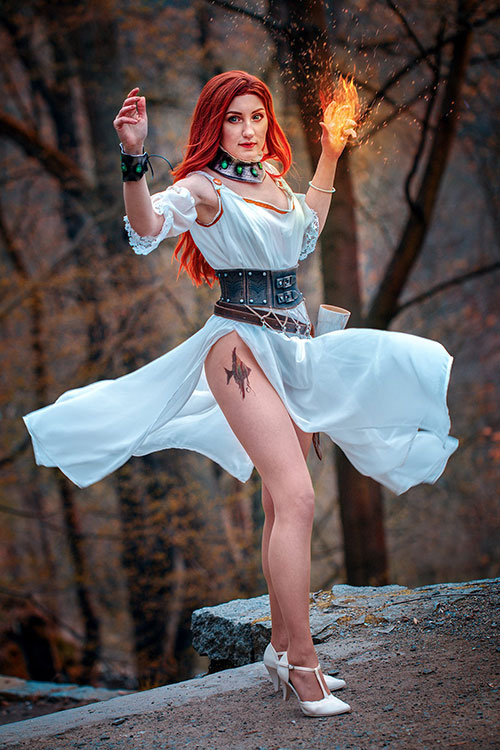 Lytta Neyd from The Witcher: Season of Storms Cosplay