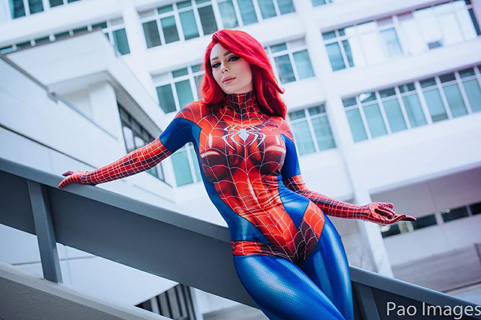 Mary Jane Spider-Man Cosplay