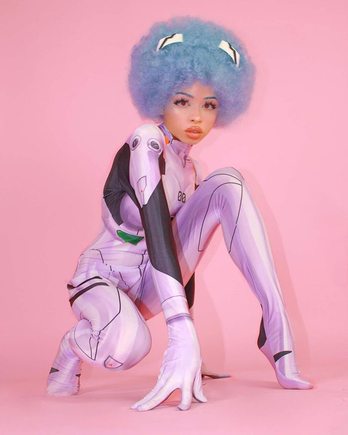 Rei from Evangelion Cosplay