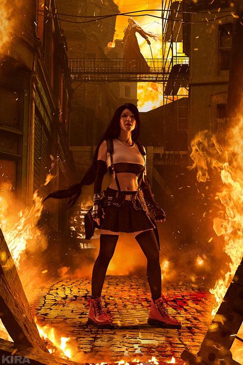 Tifa from Final Fantasy VII Cosplay