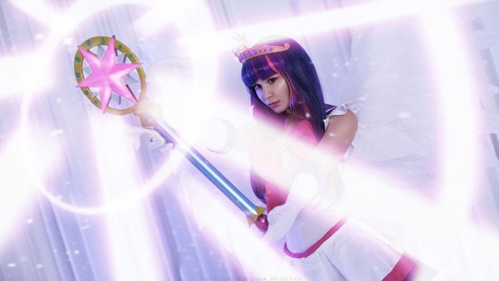 Sailor Twilight Sparkle Cosplay