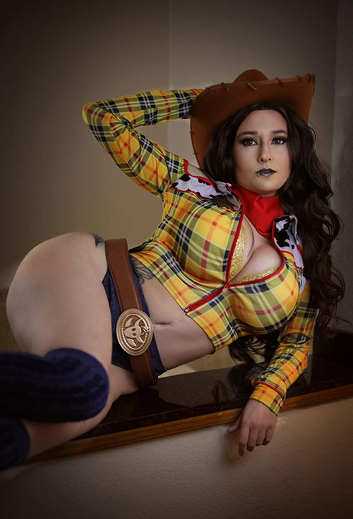 Woody from Toy Story Pinup Cosplay