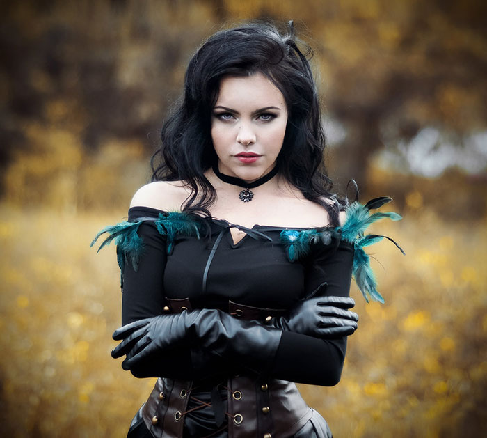 Yennefer from The Witcher 3: Wild Hunt Cosplay
