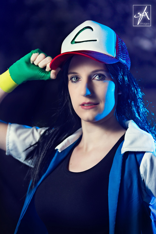 ash ketchum from pokemon cosplay